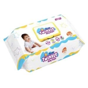 savlon twinkle baby wipes 120 pcs