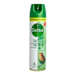 dettol surface disinfectant spray original pine 225l