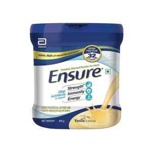 ensure nutrition vanilla flavour powder
