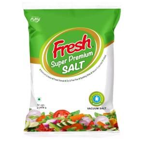 fresh super premium (vacuum) salt