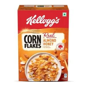 kellogg's corn flakes with almond & honey 300gm