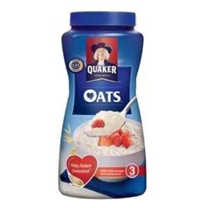 quaker oats jar 500gm