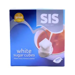 sis white sugar cube 454gm