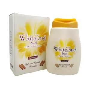 white tone face powder pearl sandal 50gm