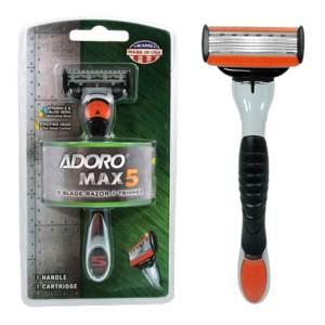 adoro max 5 shaving razor