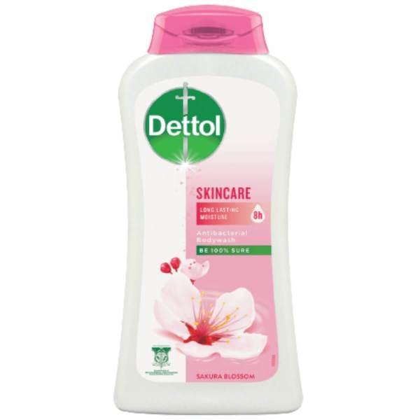 dettol antibacterial skincare body wash 250ml