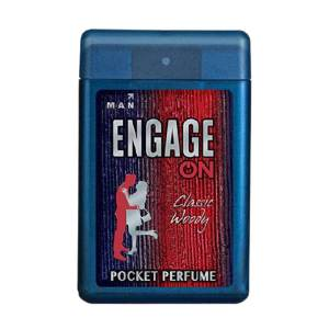engage on man pocket perfume (classic woody)