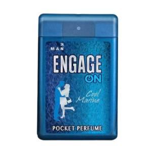 engage on man pocket perfume (cool marine) 18ml