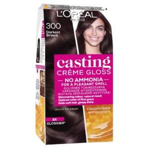 loreal paris lp casting creme 300 darkest brown 24ml