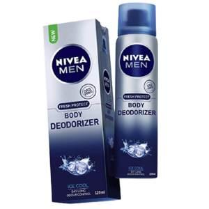 nivea men ice cool body deodorizer 120ml