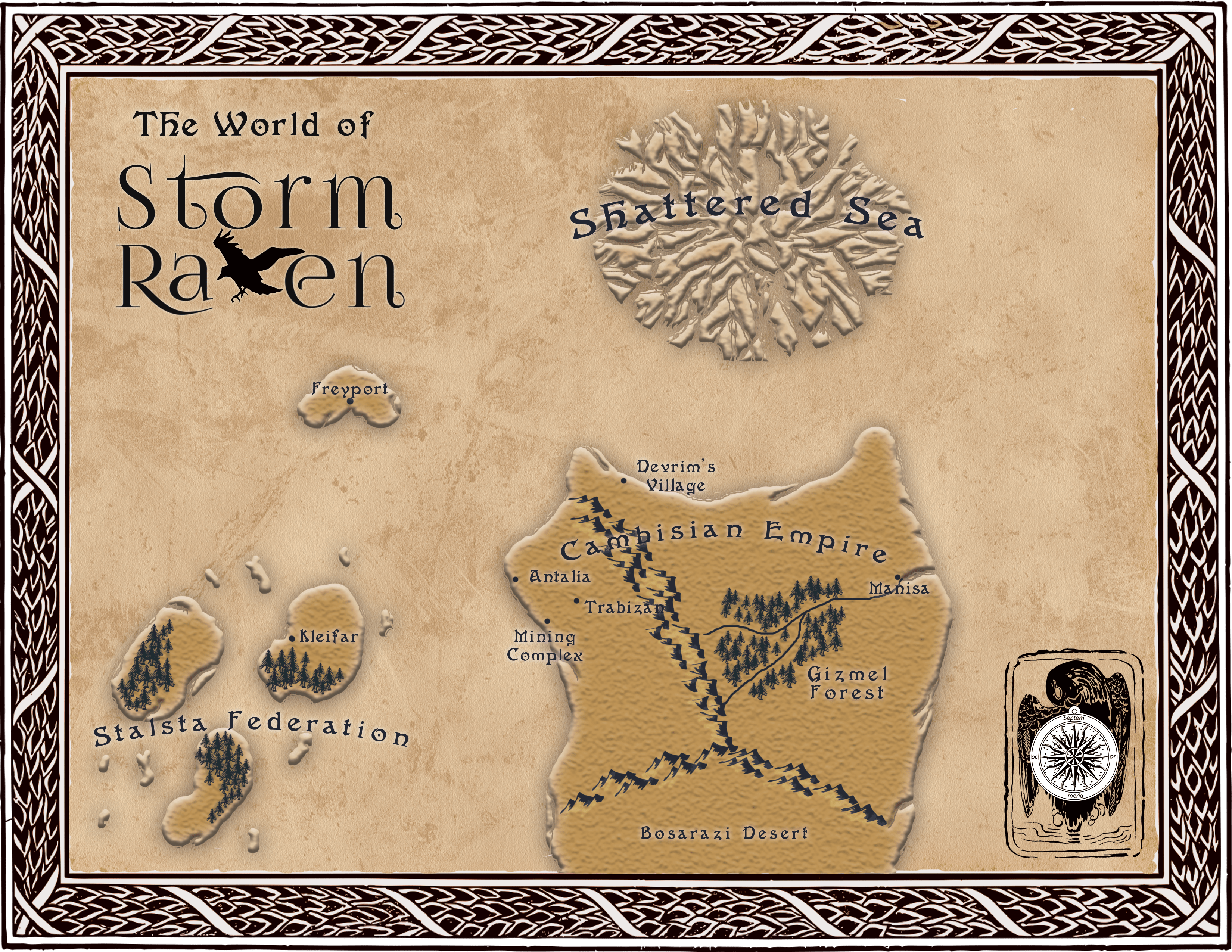 Exploring the world of storm raven freyport k hanson books as the release date of storm raven approaches im launching a series of short posts on various parts of the world in which the book takes place gumiabroncs Choice Image