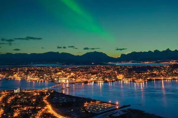 مدينة ترومسو من اجمل اماكن سياحية في النرويج