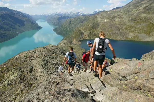 الحديقة الوطنية فى جوتونهيمين من اجمل اماكن سياحية في النرويج
