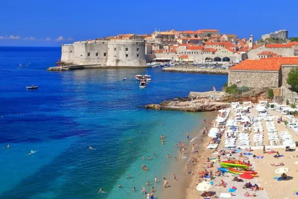 مدينة دوبروفنيك من اجمل اماكن سياحية في كرواتيا