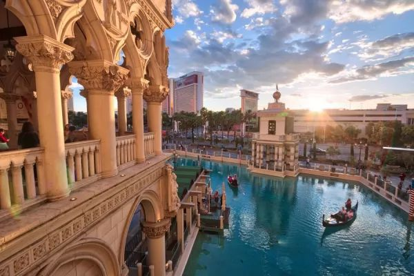 البندقية من اجمل اماكن سياحية في لاس فيغاس