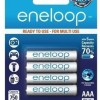 Panasonic BK-4MCCE/4BN eneloop AAA 2100 Cycle Ni-MH Pre-Charged Rechargeable Batteries, Pack of 4-0