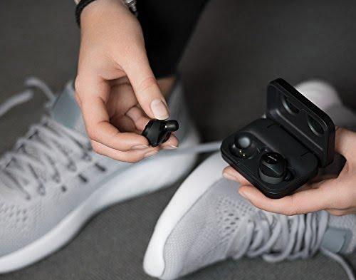 Jabra Elite Sport True Wireless Waterproof Fitness & Running Earbuds with Heart Rate and Activity Tracker (Black)-5301