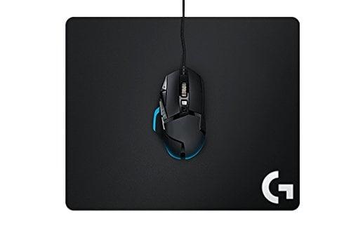 Logitech G240 Cloth Gaming Mouse Pad (Black)-5633