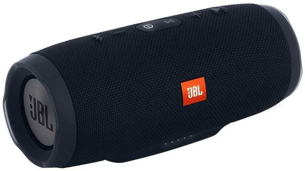 JBL Charge 3 Powerful Portable Speaker with Built-in Powerbank (Black)-0