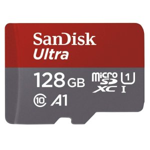 SanDisk 128GB Class 10 microSDXC Memory Card with Adapter (SDSQUAR-128G-GN6MA)-0