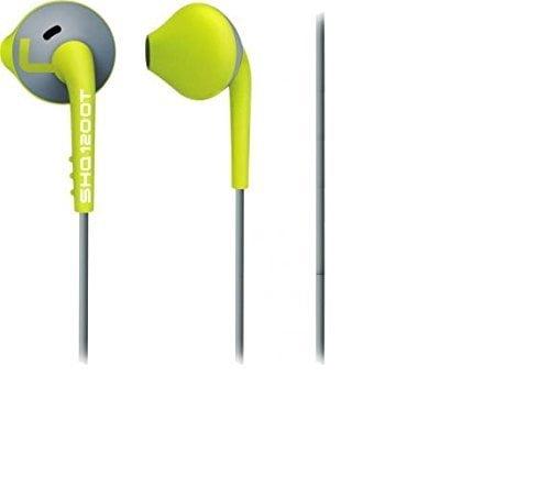 Philips ActionFit MP3 Headphones (Green/Grey)-0