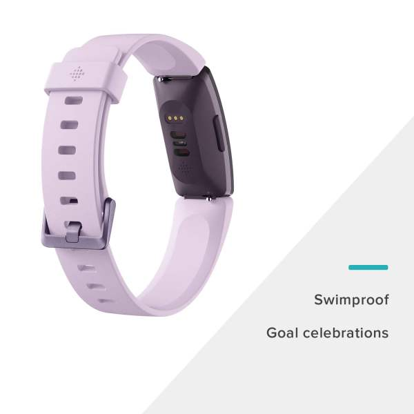 Fitbit Inspire HR Health and Fitness Tracker with Heart Rate (Lilac)-7349