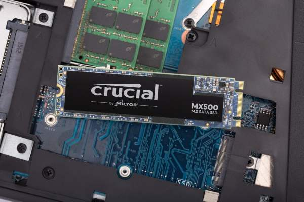 Crucial MX500 500GB M.2 Type 2280 SSD-7230