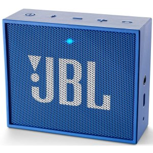JBL GO Portable Wireless Bluetooth Speaker with Mic (Blue) -0