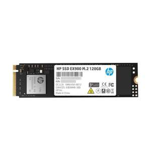 HP EX900 M.2 120GB PCIe 3.1 x 4 NVMe 3D TLC NAND Internal Solid State Drive (SSD) Max 1900 MBps (2YY42AA#ABC)-0
