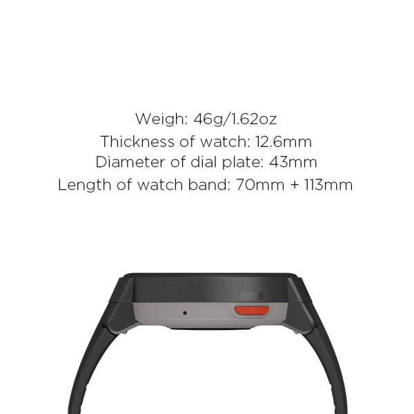 Amazfit Verge IP68 Phone Call Smart Watch (Blue)(Packing Damage Only)-7623