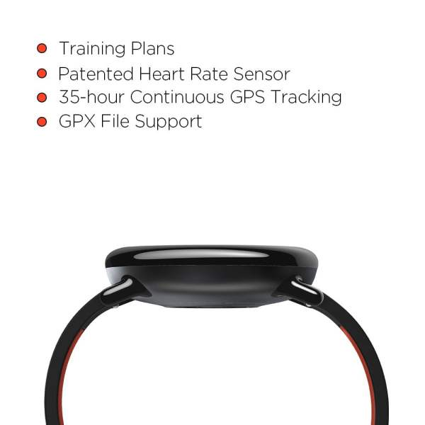 Amazfit Pace A1612 Multisport Smartwatch (Black) (Packing Damage Only)-7605