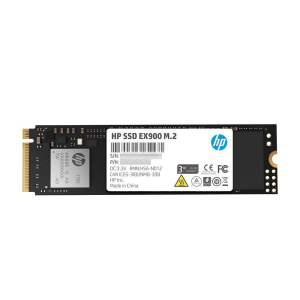 HP EX900 M.2 1TB PCIe 3.1 x4 NVMe 3D TLC NAND Internal Solid State Drive (SSD) Max 2100 MBps (5XM46AA#ABC)-0