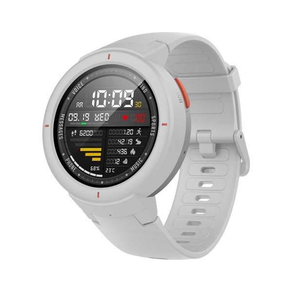 Amazfit Verge IP68 Phone Call Smart Watch (White)(Packing Damage Only)-0