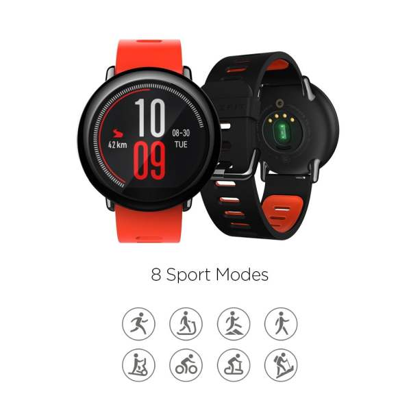Amazfit Pace A1612 Multisport Smartwatch (Black) (Packing Damage Only)-7613