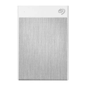 Seagate Backup Plus Ultra Touch 1 TB External Hard Drive Portable HDD – White USB-C USB 3.0, 1 Year Mylio Create, 2 Months Adobe CC Photography-0