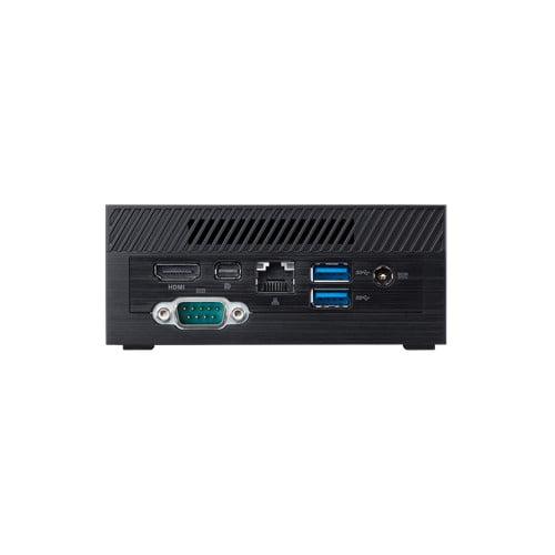COMBO ASUS PN40 Ultra-Compact Mini PC with Intel Celeron N4000 Processor/Intel UHD Graphics 600 / 4GB DDR4 RAM/ 128GB M.2 SSD / 4K UHD Support/USB 3.1 Gen 1 Type-C (PN40-BBC203MV) Black-9550