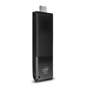 Intel Compute Stick Stick PC (Atom BOXSTK1AW32SCL/2GB/32GB/Windows 10/Integrated Graphics), Black-0