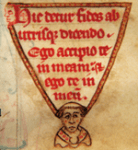 13th Century marginalia form the Kenilworth Missal