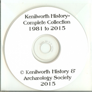 Kenilworth History CD - 1981 to 2015