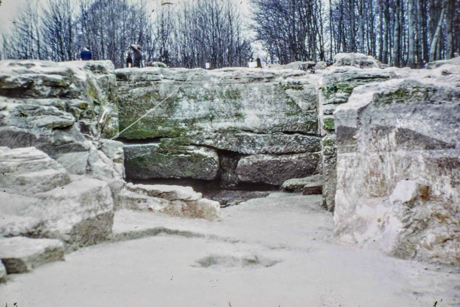 The 'Quarry' site, 1972
