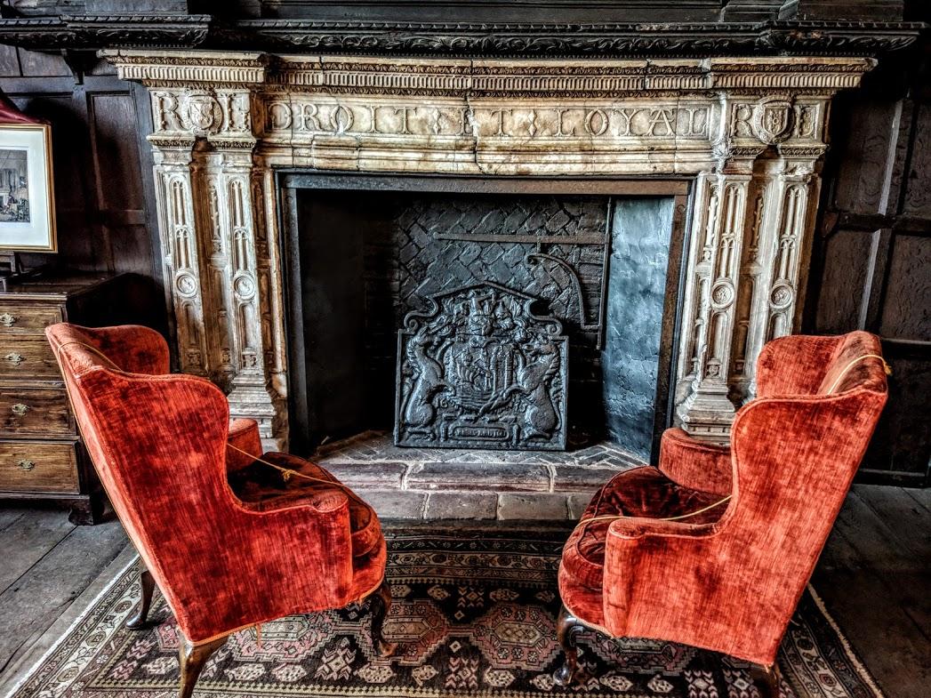 Fireplace, Castle Gatehouse