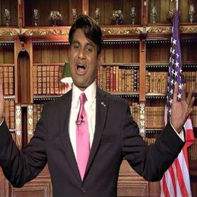 Aziz Ansari attacked Trump - News in Hindi