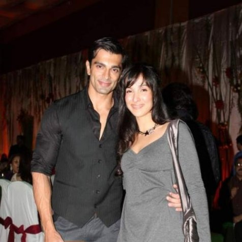 Image result for images of Karan Singh Grover and Shraddha Nigam(10 months)