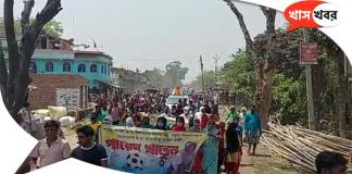 Bike rallies were held in Ratua and Malda in stages during the election campaign