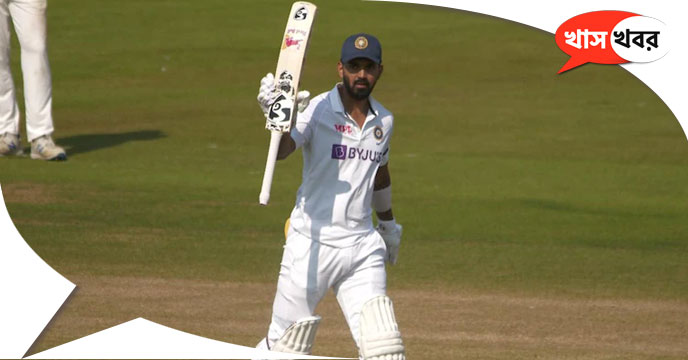 County Select XI vs India: KL Rahul secures century for first Test