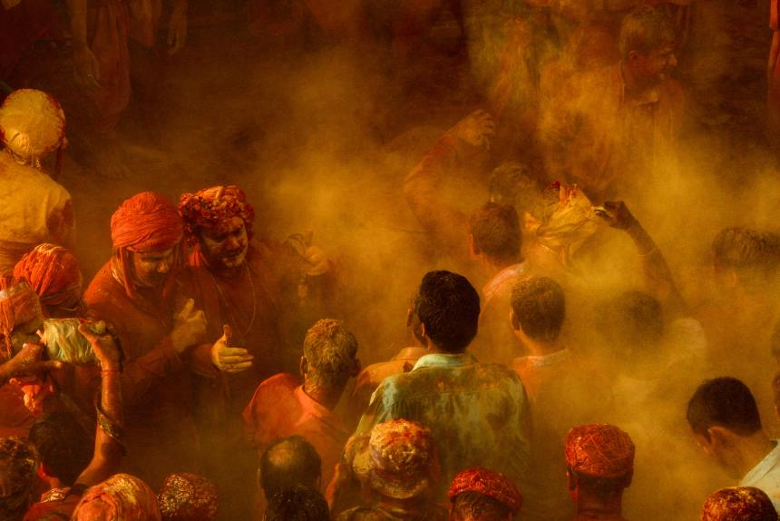 Colorful Holi Play