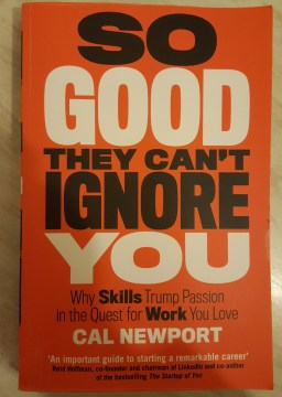 So Good They Can't Ignore You - Book image