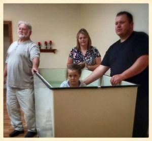 Tori Baptism