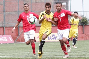 RedBull C Division League: Sanepa Vs Nawajyoti - Khel Dainik Photos
