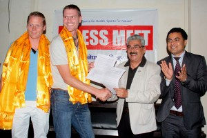 Nepal Volleyball Association & Netherlands Volleyball Association Sign A Five Point Agreement - Khel Dainik
